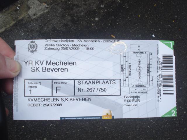 Rondje om: Fandag KV Mechelen | De Trouwe Honden